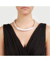 John Lewis | Metallic Wrapped Rope Mesh Necklace | Lyst