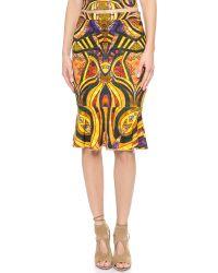 Torn By Ronny Kobo Multicolor Paris Skirt