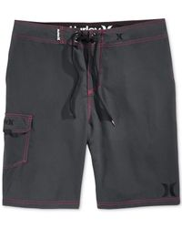 "Hurley - Gray Men's One & Only 22"" Board Shorts for Men - Lyst"