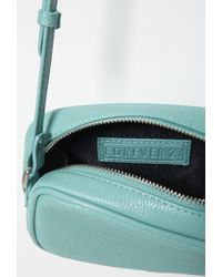 Forever 21 - Green Faux Leather Mini Crossbody - Lyst