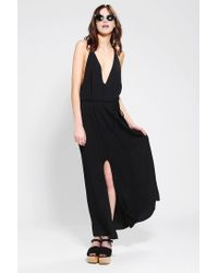 Reformation - Black Citrine Maxi Dress - Lyst