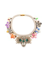 Shourouk | Multicolor Avalon Multi Necklace | Lyst