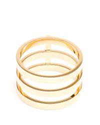Repossi Metallic 18k Yellow Gold Berbère Ring