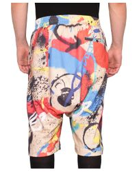 KTZ - Multicolor Multi Engine Digital Cotton Bermuda Shorts for Men - Lyst