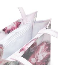 Ted Baker Pink Shelcon Ethereal Posie Icon Shopper Bag