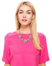 BaubleBar | Black Vintage Dandelion Collar | Lyst