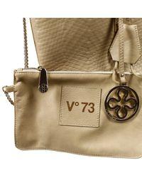 V73 Natural Handbag Bag Laguna Shopping Inside Weaving