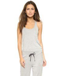 Calvin Klein - Gray Fusion Tank - Grey Heather - Lyst