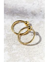 Luv Aj - Metallic The Ring Of Fire Statement Earring - Lyst