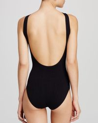 Free People - Black Scoop Back Bodysuit - Lyst