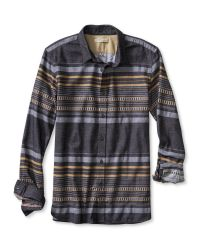 Banana Republic Brown Heritage Blanket Stripe Shirt for men