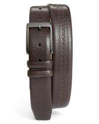 Mezlan Brown 'perseo' Belt for men