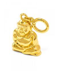 BaubleBar - Metallic Buddha Bracelet Charm - Lyst