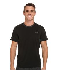 The North Face | Black Ampere Short Sleeve Crew Shirt for Men | Lyst