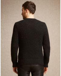 Belstaff - Black Woodhurst Jumper for Men - Lyst