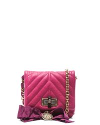 Lanvin | Pink Happy Quilted Mini | Lyst