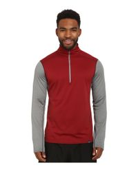 Patagonia | Red Cap Midweight Zip Neck for Men | Lyst
