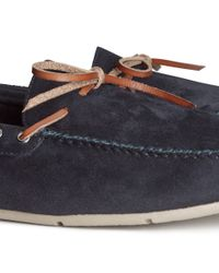 H&M Blue Loafers for men