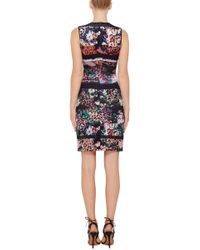 Clover Canyon - Multicolor Floral Filter Sheath Dress - Lyst