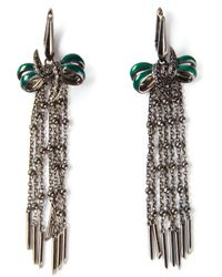 Stephen Webster | Metallic Sapphire Bow Earrings | Lyst
