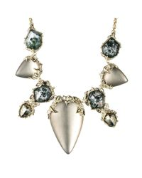 Alexis Bittar | Gray Imperial Crystal Lace Bib Necklace | Lyst