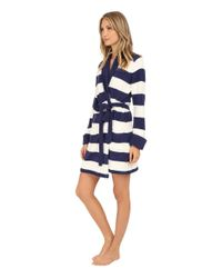 Betsey Johnson - Blue Cozy Sweater Robe - Lyst