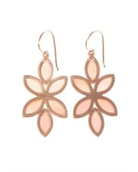 Irene Neuwirth - Pinkopal Rosegold Earrings - Lyst