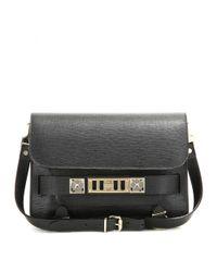 Proenza Schouler Black PS11 Leather Shoulder Bag