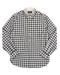 Grayers | Blue Textured Twill Gingham Check Sportshirt for Men | Lyst