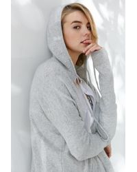 Silence + Noise - Gray Take Your Time Cardigan - Lyst