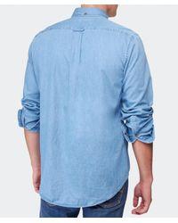 Gant - Blue Indigo Denim Shirt for Men - Lyst