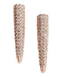 Eddie Borgo Metallic Earrings
