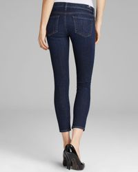 Citizens of Humanity Blue Jeans - Avedon Ankle Skinny In Icon