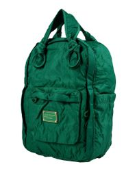 Marc By Marc Jacobs Green Rucksacks & Bumbags