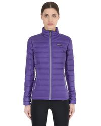 Patagonia | Purple Down Sweater Jacket | Lyst
