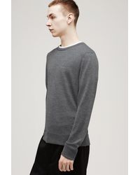 Rag & Bone - Gray Emerson Crew for Men - Lyst