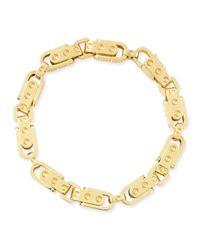 Roberto Coin | Metallic Pois Moi 18k Yellow Gold Round Link Bracelet | Lyst