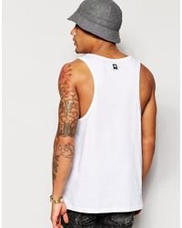Supremebeing - White Supremebeing Vest With Block Print for Men - Lyst
