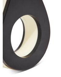 Marni - Black Chunky Ring - Lyst