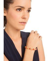 Trina Turk   Orange Stone Bangle Bracelet   Lyst