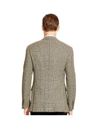 Ralph Lauren Black Label - Black Nigel Plaid Wool Sport Coat for Men - Lyst