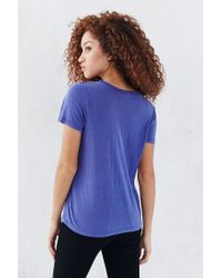 Truly Madly Deeply   Blue Marnie Tee   Lyst