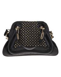 Chloé - Black Paraty Shoulder Bag - Lyst