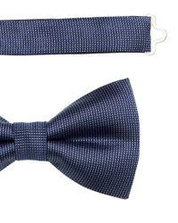 H&M - Blue Silk Bow Tie for Men - Lyst
