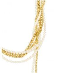 BaubleBar - Metallic Chain Kimmy Strands - Lyst