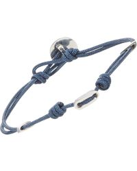 Zadeh | Blue St. Tropez Double-strand Cord Bracelet for Men | Lyst