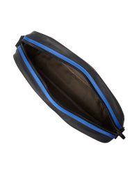 Ted Baker Black Pu Despatch Bag for men