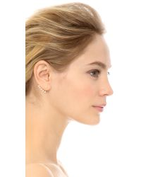 Ca&Lou - Metallic Pixie Earrings - Lyst