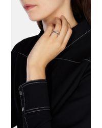 Karen Millen - Metallic Arrow Ring - Lyst