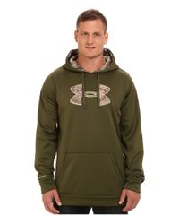 Under Armour Green Storm Caliber Hoodie Tall for men